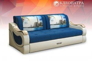 Прямой диван Версаль-4 ТТ - Мебельная фабрика «Клеопатра»