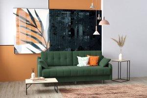 Прямой диван Женева - Мебельная фабрика «RIVALLI»