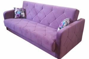 Компактный диван-кровать Вера с подлокотниками - Мебельная фабрика «Viktoria»