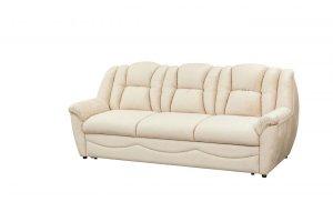 Прямой кожаный диван - Мебельная фабрика «Тылибцева», г. Ижевск