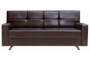 Прямой кожаный диван Маэстро - Мебельная фабрика «Астмебель»