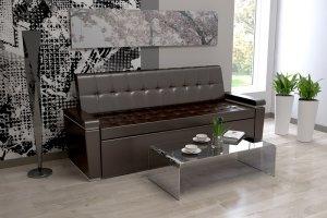 Прямой кухонный диван Секрет 4 - Мебельная фабрика «Алсо»