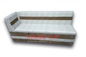 Прямой кухонный диван Слип 2 - Мебельная фабрика «Алрус-Арт»