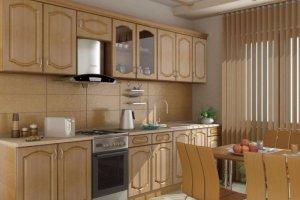 Прямой кухонный гарнитур Эконом - Мебельная фабрика «Волхова»