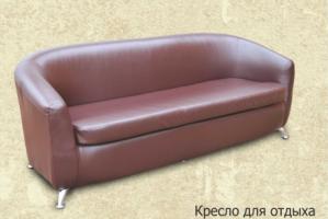 Прямой офисный диван отис - Мебельная фабрика «Отис», г. Ульяновск