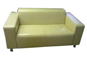 Прямой светлый диван - Мебельная фабрика «Глажево»