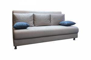 Прямой светлый диван - Мебельная фабрика «Лина-Н»