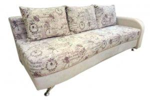 Прямой светлый диван - Мебельная фабрика «Ритм»