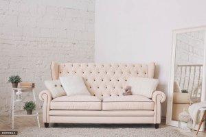 Прямой светлый диван Оливер - Мебельная фабрика «Юнусов и К»