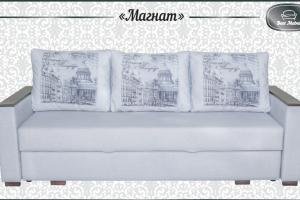 прямой трехместный диван магнат - Мебельная фабрика «Best Mebel», г. Волгоград