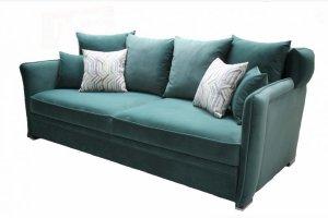 Прямой зеленый диван Мартин - Мебельная фабрика «Имтекс мебель»