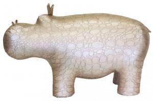 Пуф Бегемот жемчужный/крокодил - Мебельная фабрика «Мебелик»