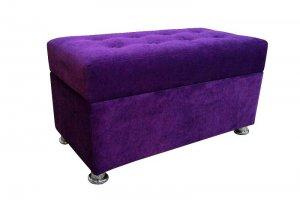 Пуф фиолетовый 30 - Мебельная фабрика «Мега-Проект»