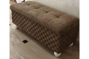 Пуф Лучиано с открывающейся крышкой - Мебельная фабрика «Bancchi»