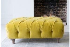 Пуф Монарх в каретной стяжке супер мягкий - Мебельная фабрика «Палитра»