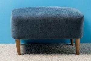 Пуф на деревянных ножках - Мебельная фабрика «Wood&Wool»