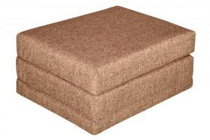 Пуф раскладной Эко коричневый - Мебельная фабрика «Экомебель»