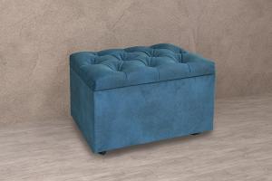 Пуф с каретной стяжкой - Мебельная фабрика «ДИАЛ»
