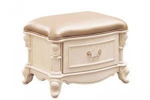 Пуф с ящиком выдвижным 2506400L - Импортёр мебели «Carpenter»