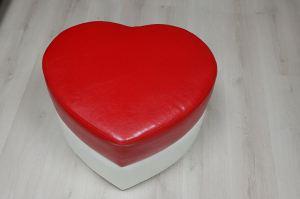 Пуф Сердце - Мебельная фабрика «Статус»