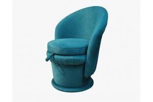 Пуф синий 13 - Мебельная фабрика «Мега-Проект»