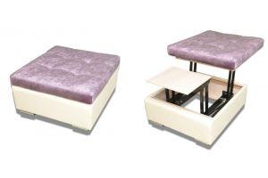 Пуф Соня-10 трансформируемый в стол - Мебельная фабрика «Арт-мебель»