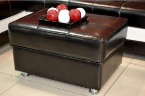 Пуф темный с ящиком - Мебельная фабрика «Глория»