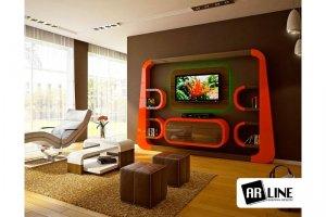 Радиусная мебель для гостиной - Мебельная фабрика «ARLINE»
