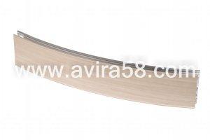 Радиусный алюминиевый профиль Береза - Оптовый поставщик комплектующих «Авира»