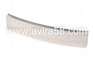 Радиусный алюминиевый профиль Береза текстурная - Оптовый поставщик комплектующих «Авира»