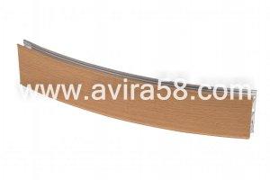 Радиусный алюминиевый профиль Бук - Оптовый поставщик комплектующих «Авира»