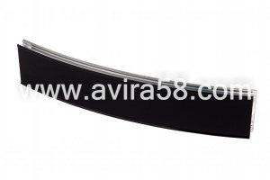 Радиусный алюминиевый профиль Черный глянец - Оптовый поставщик комплектующих «Авира»