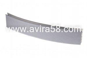 Радиусный алюминиевый профиль Шелк сербро - Оптовый поставщик комплектующих «Авира»