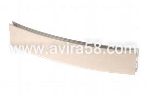 Радиусный алюминиевый профиль Шелк ваниль - Оптовый поставщик комплектующих «Авира»