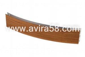 Радиусный алюминиевый профиль Вишня - Оптовый поставщик комплектующих «Авира»