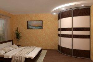 Радиусный шкаф-купе 1 - Мебельная фабрика «Вариант М»