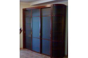 Радиусный шкаф-купе - Мебельная фабрика «HOLZ»