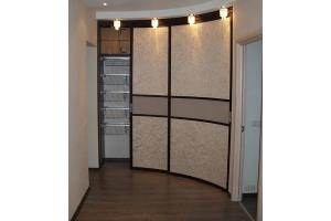 Радиусный шкаф-купе - Мебельная фабрика «Мебель-ОС»