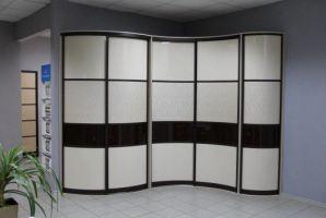Радиусный шкаф-купе - Мебельная фабрика «Гигмебели»
