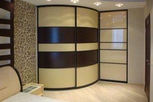 Радиусный шкаф-купе 3 - Мебельная фабрика «Вариант М»