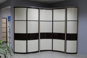 Радиусный шкаф-купе 4 - Мебельная фабрика «Вариант М»