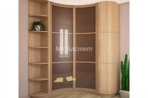 Радиусный угловой шкаф-купе Р-13 - Мебельная фабрика «Бастет»