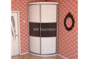 Радиусный угловой шкаф-купе Р-14 - Мебельная фабрика «Бастет»