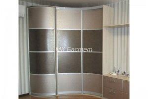 Радиусный угловой шкаф-купе Р-8 - Мебельная фабрика «Бастет»