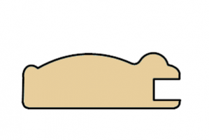 Рамочный профиль 21x60x2800 - Оптовый поставщик комплектующих «Тэкс»