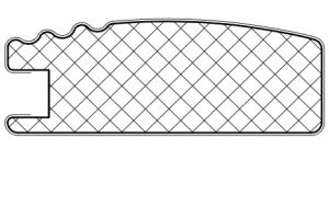 Рамочный профиль №2206 - Оптовый поставщик комплектующих «АртПрофиль»