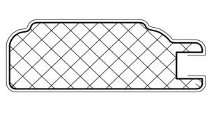 Рамочный профиль №226 - Оптовый поставщик комплектующих «АртПрофиль»