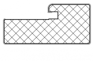 Рамочный профиль №2281 - Оптовый поставщик комплектующих «АртПрофиль»