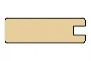 Рамочный профиль 22x70x2800 - Оптовый поставщик комплектующих «Тэкс»