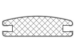 Рамочный профиль №31/16х2 - Оптовый поставщик комплектующих «АртПрофиль»